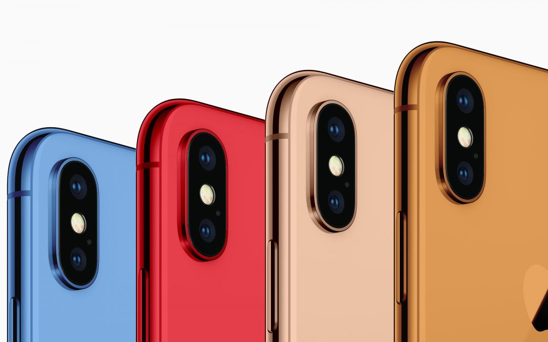 Apple Will Release iPhones In Red, Orange & Blue