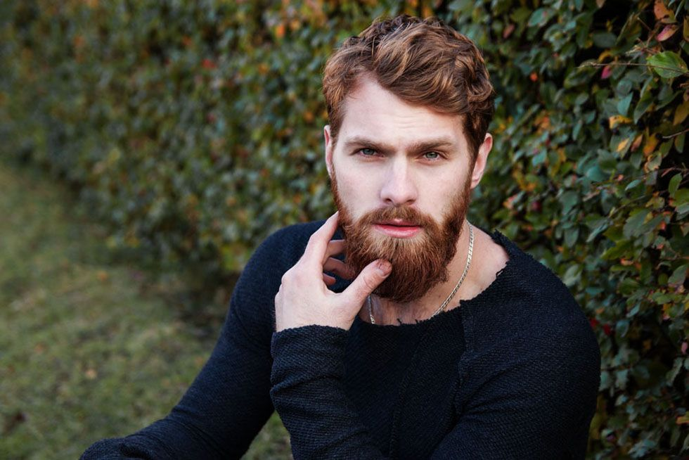 Now we know why women like bearded men