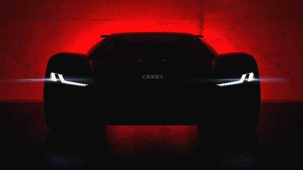 Audi PB 18 E-Tron concept is a slick electric supercar