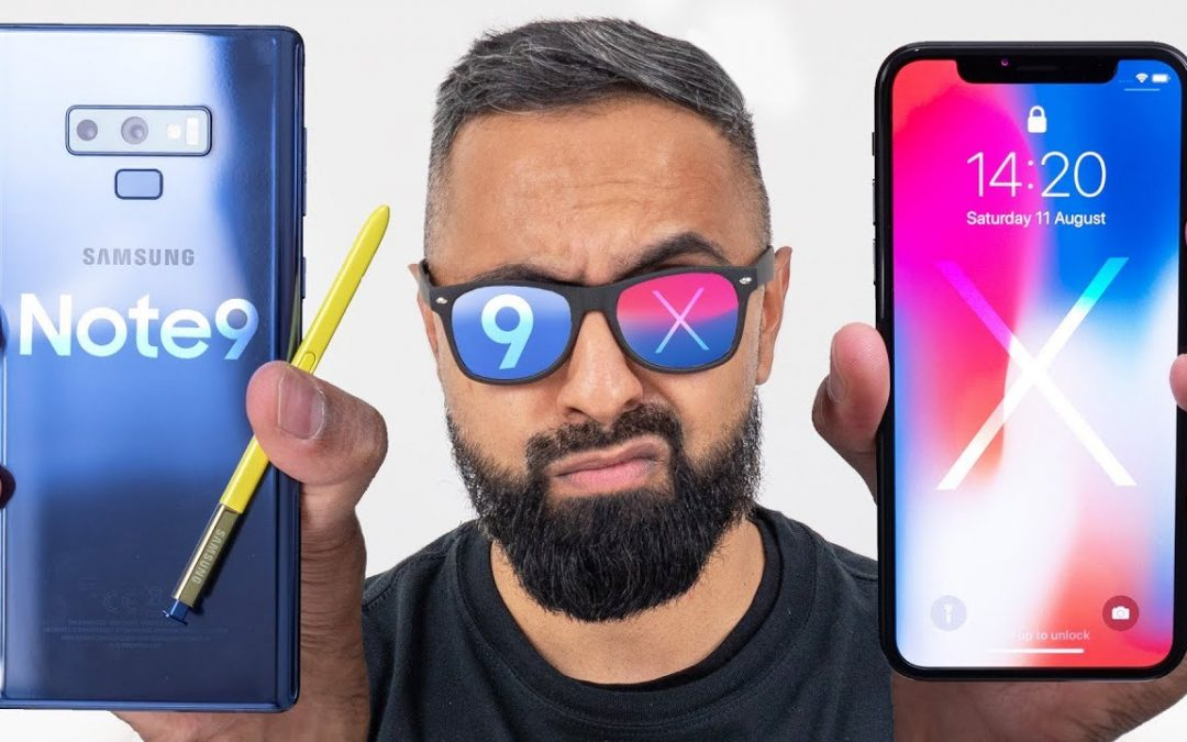 Is Galaxy Note 9 better than iPhone X?