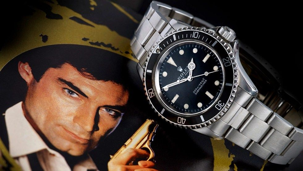 James Bond's License to Kill Rolex on Auction