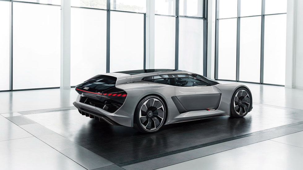 Audi PB 18 E-Tron – Car of the Future