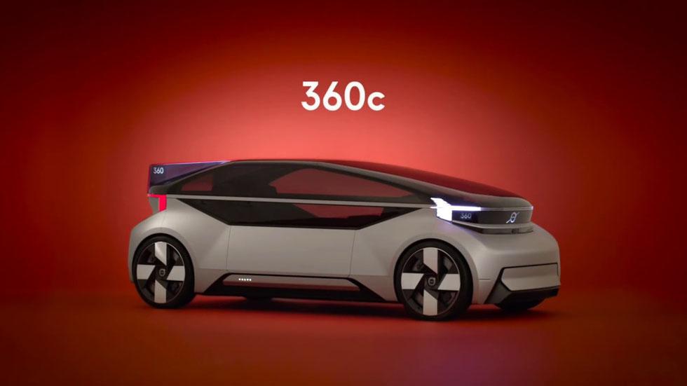 Volvo's 360c an Autonomous Car