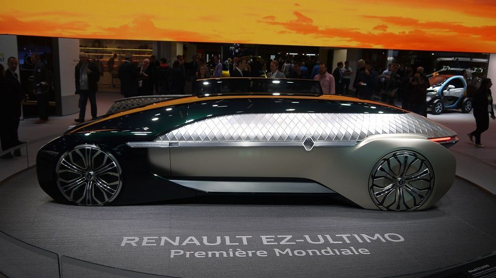 Renault EZ-Ultimo Concept! Luxury& Innovation