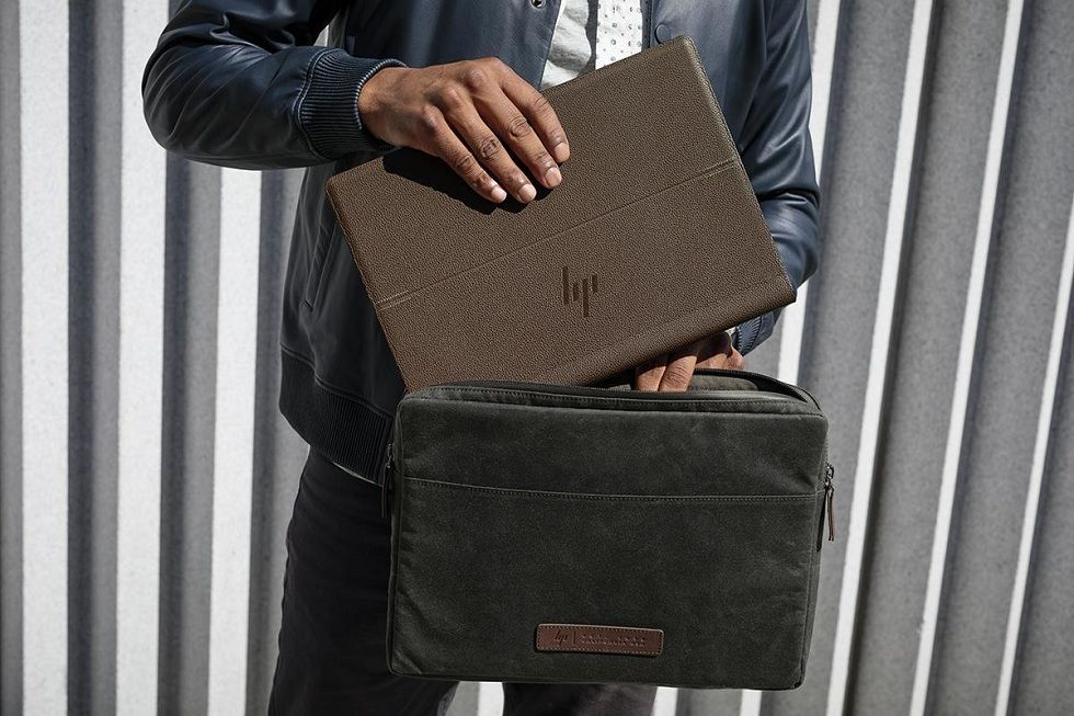 World's First Gigabit Leather Laptop by HP