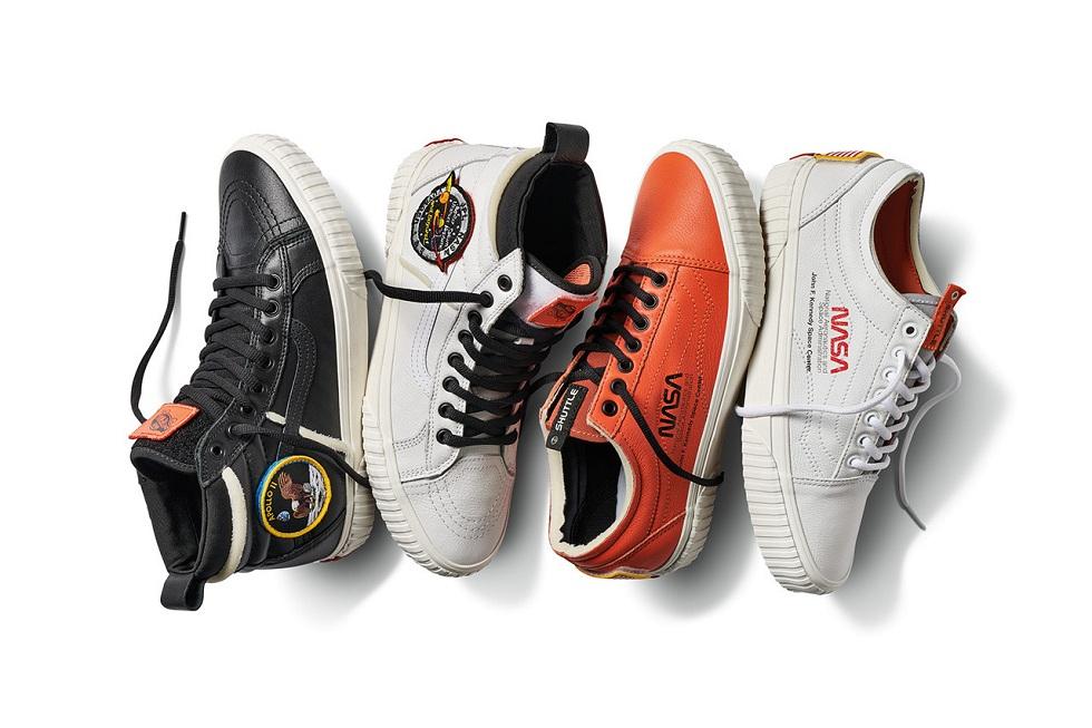 NASA X Vans Sneakers and NASA X Anicorn Watch