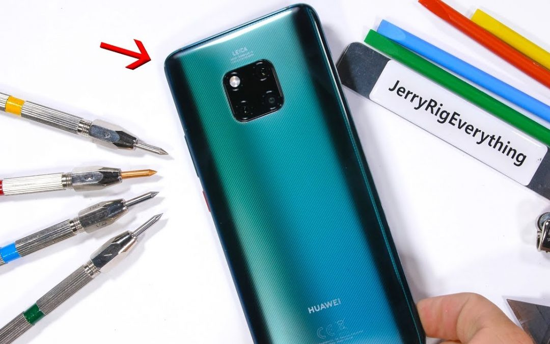 Get all Inside Huawei Mate 20 Pro Smartphone