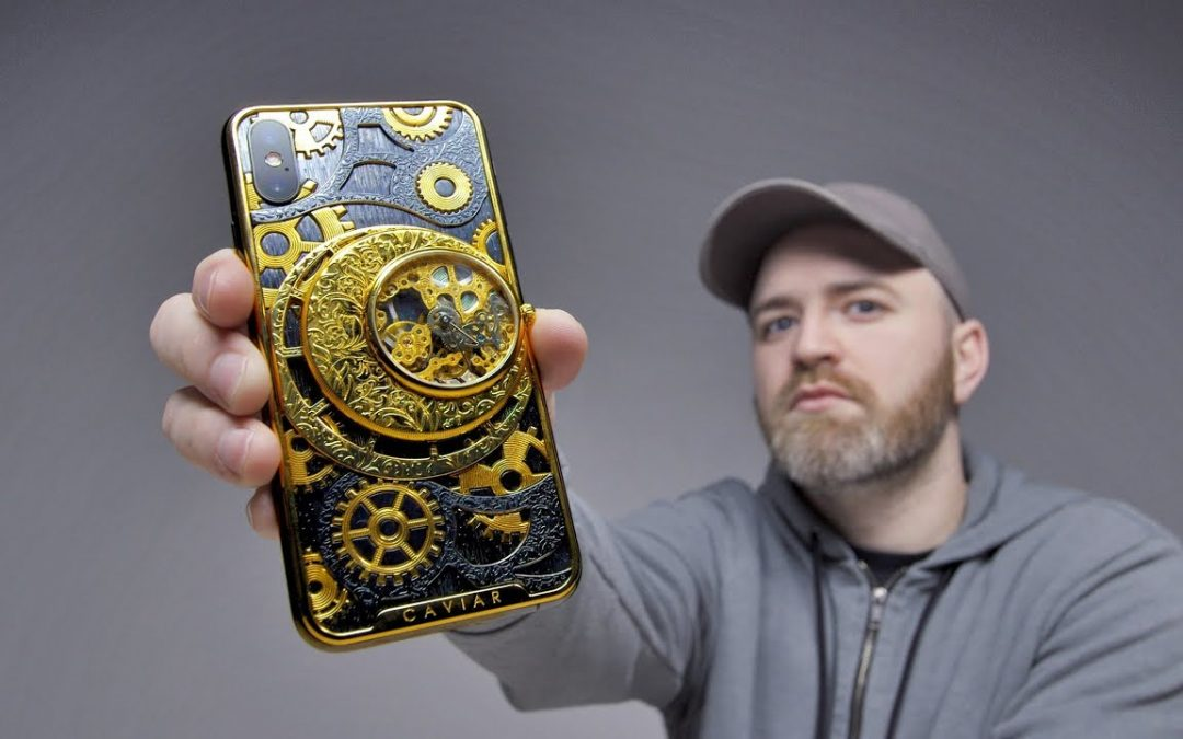 World's Hardcore Phone? Skeleton iPhone XS