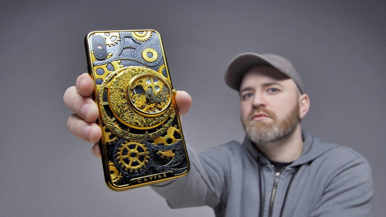 World's Hardcore Phone? Skeleton iPhone XS