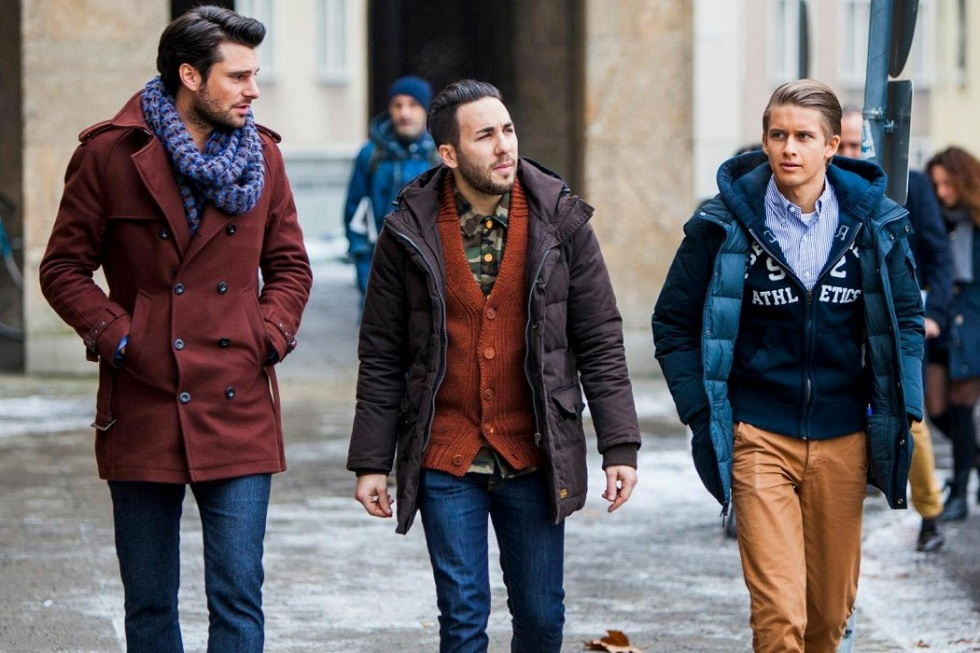 Winter Street Outfits Combination!