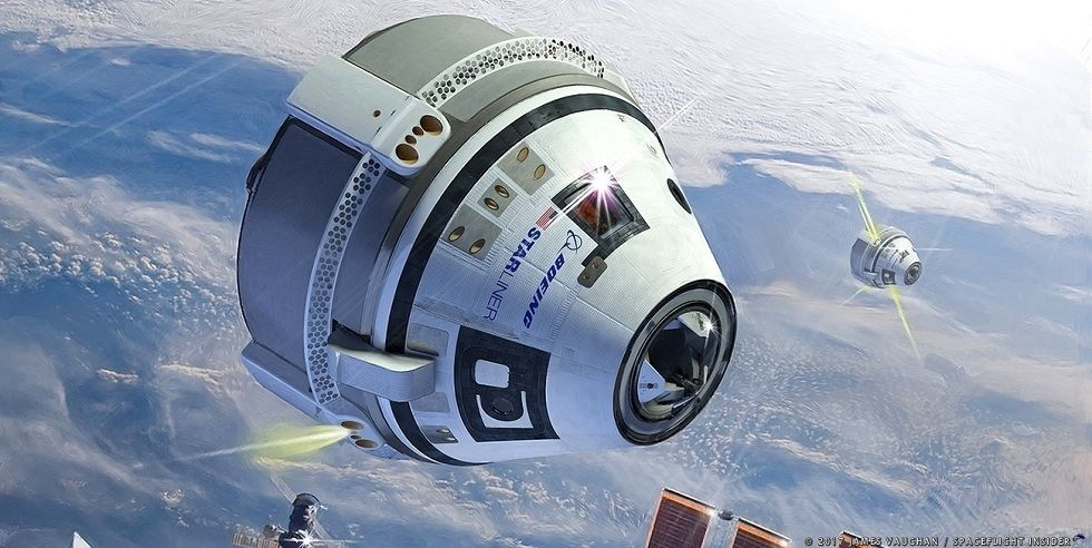 21st Century Space Capsule! The Boeing Starliner