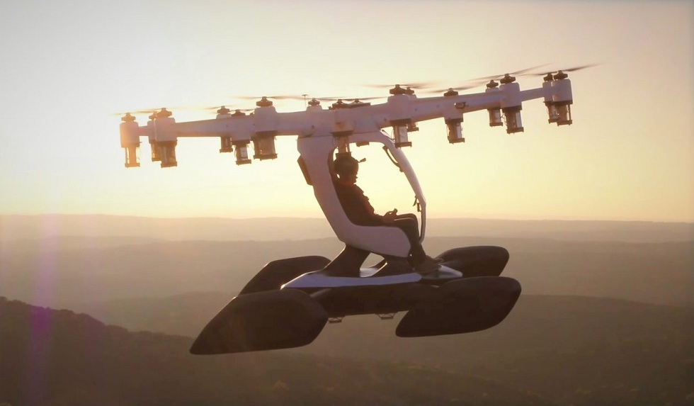 Personnel Flying Drone Machine! Lift Aircraft Hexa