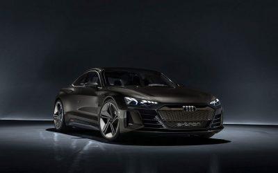 Audi's E-Tron GT Concept Car! Passionate Driving