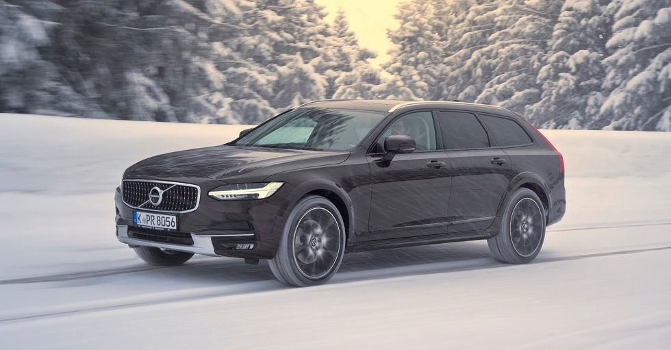 Volvo V90 Cross Country Best Vehicle For Snow