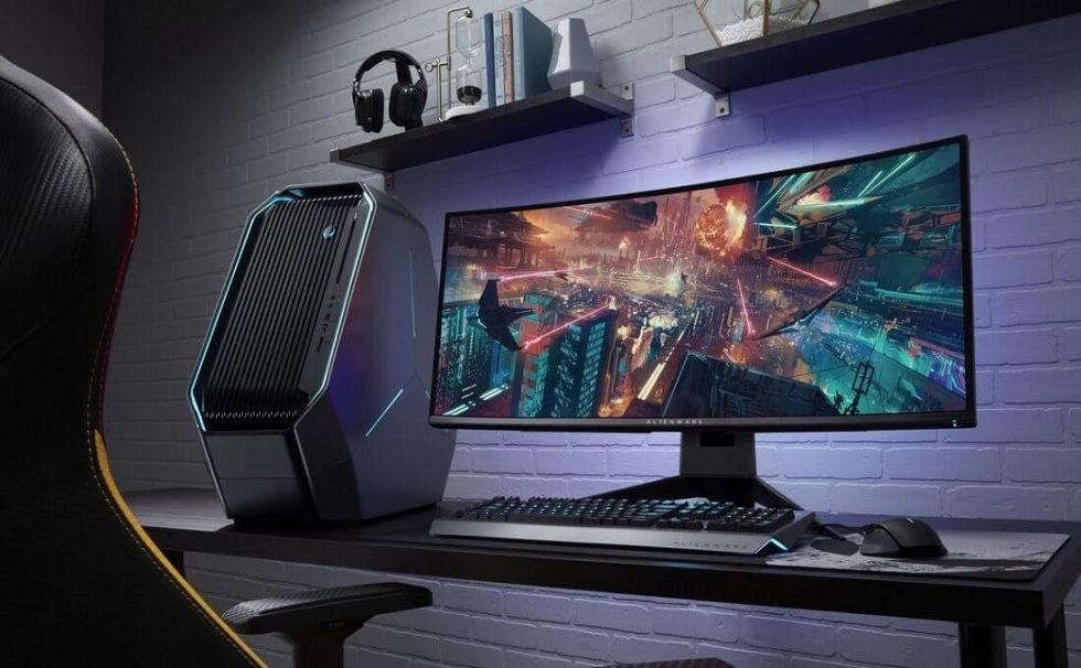 Ultimate Gaming Experience! Dell Alienware Curved Gaming Monitor