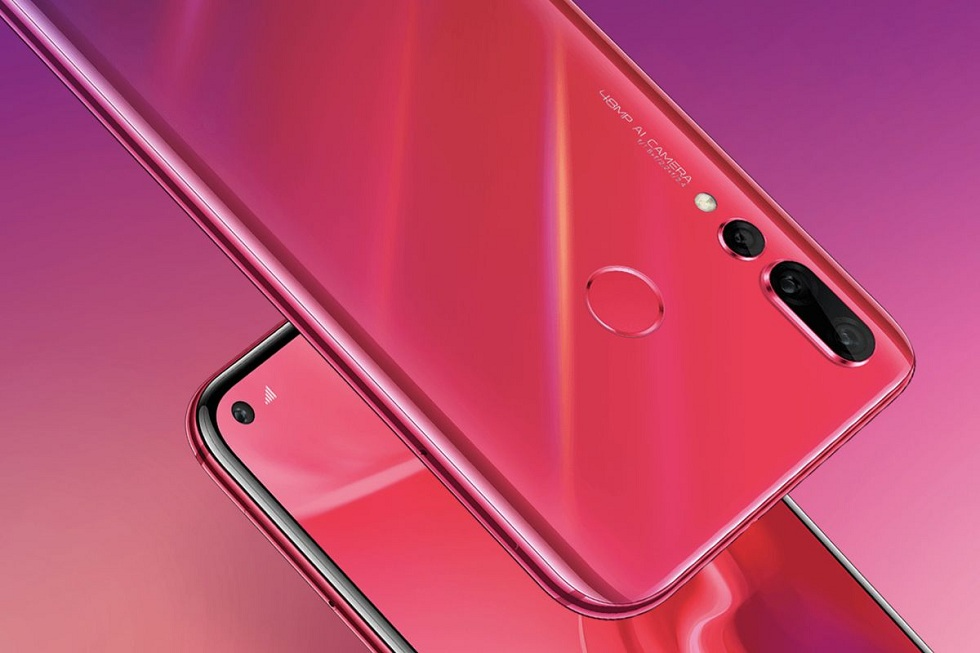 Huawei Nova 4! With 48 Megapixels and Hole-Punch Display