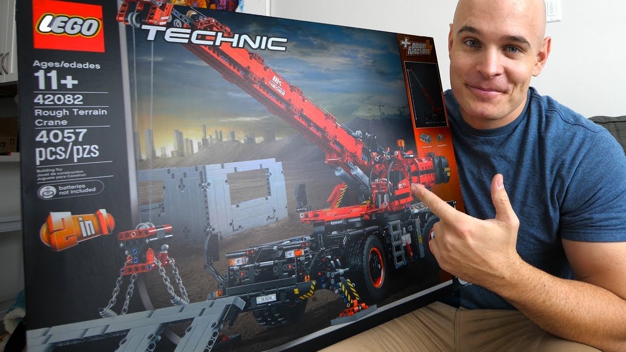 It's Amazing to See Building Largest Lego Technic Crane