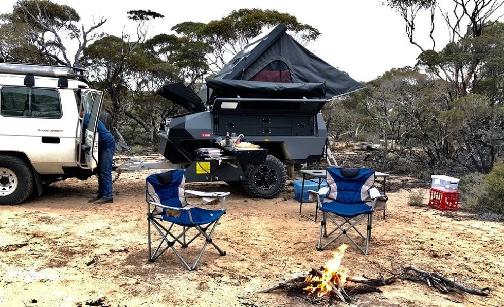 Move On in Life with Terra Trek's Camping Trailer
