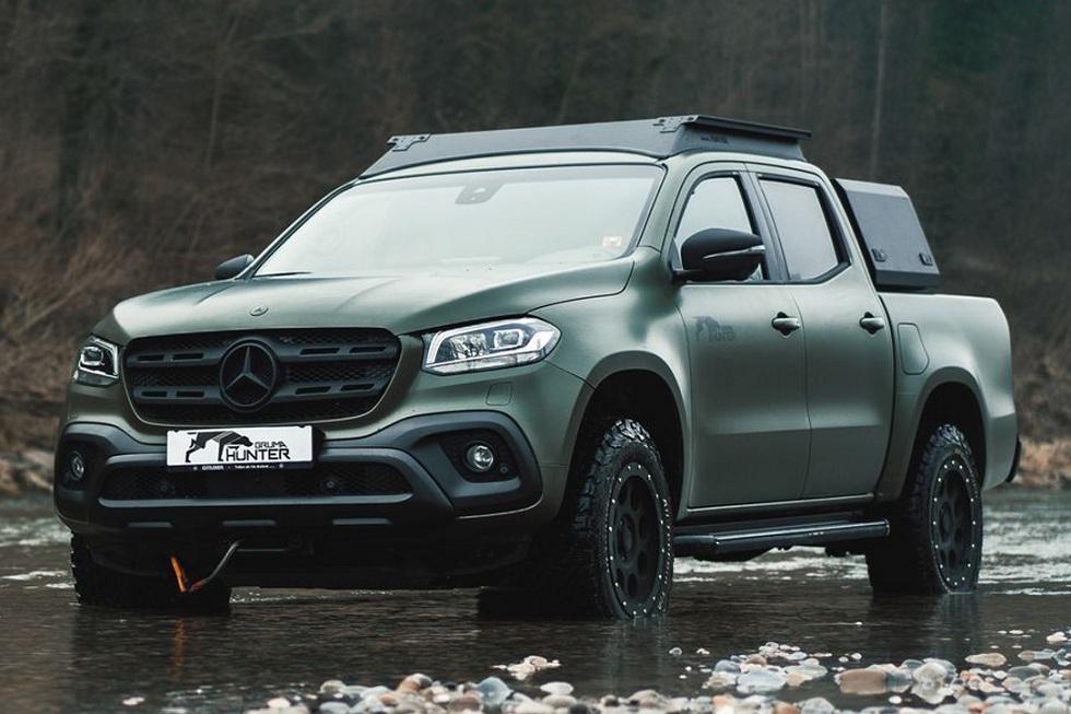 Mercedes Benz Gruma Hunter!  Hunting Vehicle