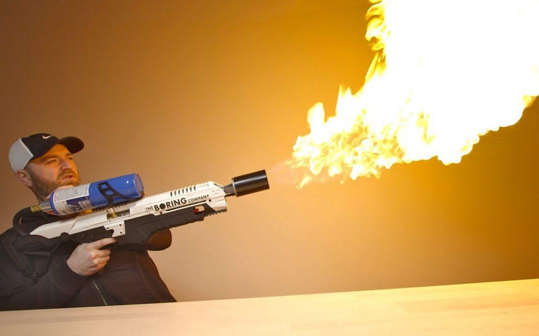 Its Not A FireGun But It's Not a Flamethrower?