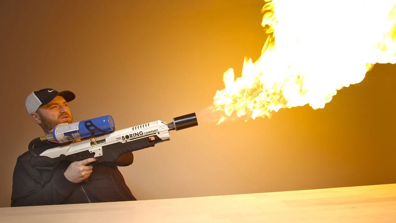 Its Not A FireGun But It's Not a Flamethrower?