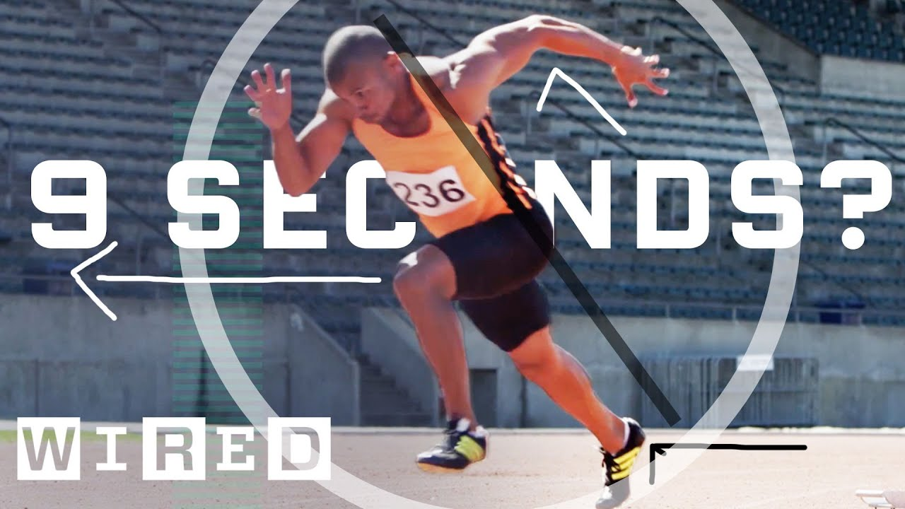 Can A Man Run 100 Meter in 9 Seconds?