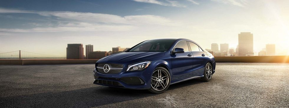 Mercedes-Benz's CLA Coupe! Voice Command