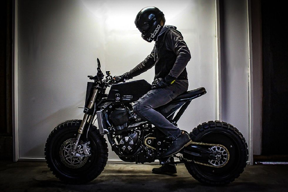 The DM-014 Custom Bike! Urban Fighter