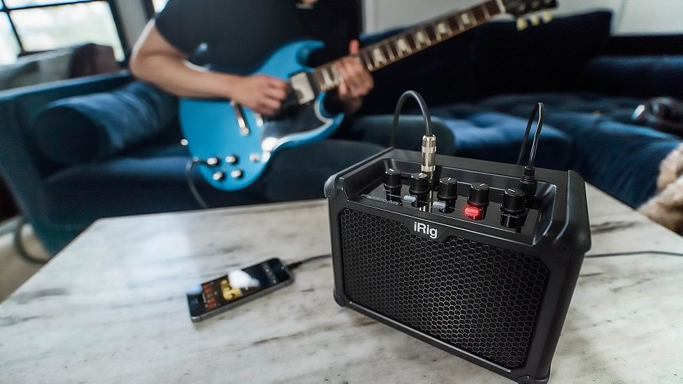 Be a Guitarist with iRig Micro Amp