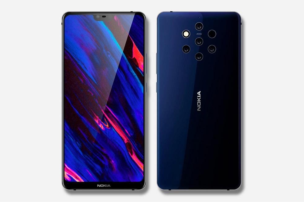 The Nokia 9 PureView! A Five Camera Phone