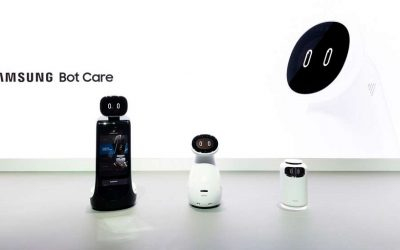 Samsung's New Robots! Bot Air, Bot Care and Bot Retail