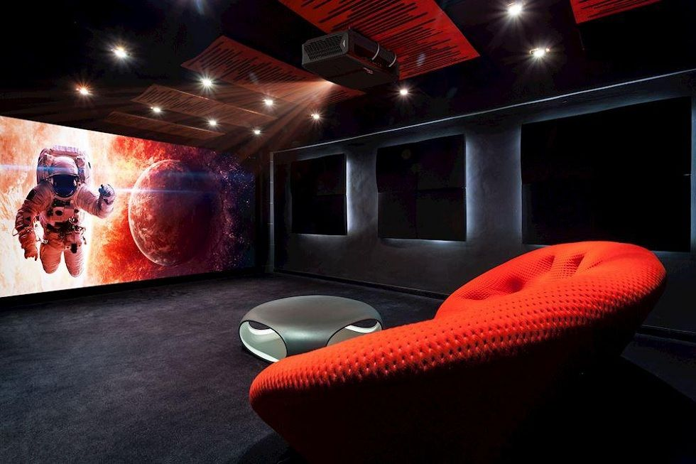 Optoma P1 Laser Projector! Ultimate projection