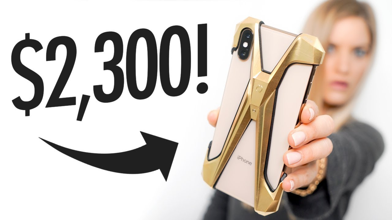 The Expensive iPhone Case! Alter ego