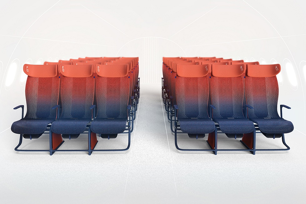Layer Move Airbus Seat Concept! Relaxing Travel
