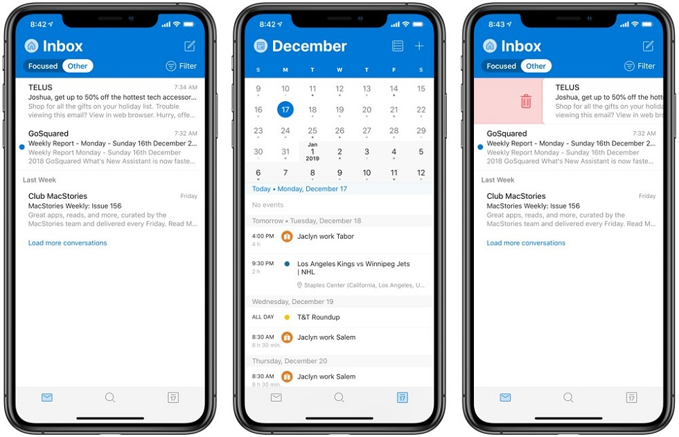 Microsoft Outlook for iOS! Available for public