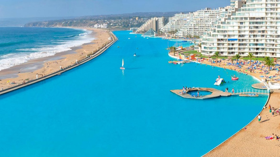 Get ready to swim in world's largest swimming Pools