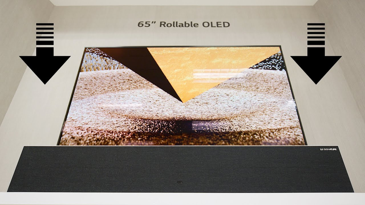 What is Technology Behind Rolled TV