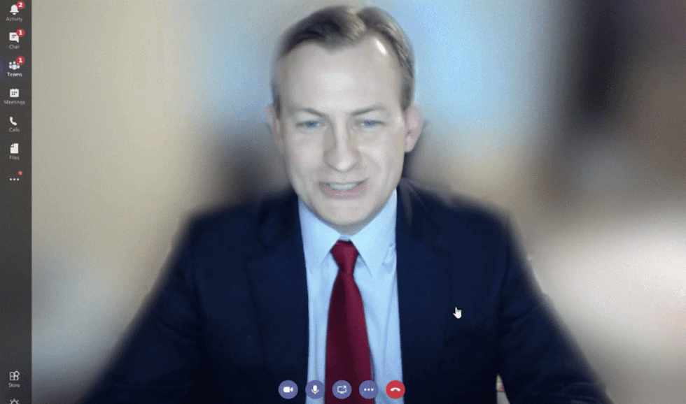 Skype's blur background! A new video innovation