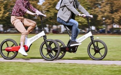 Gocycle's GX ebike! The Faster One