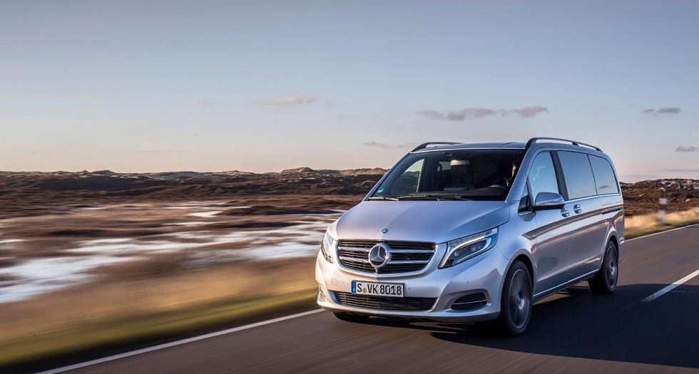 The Mercedes V-Class van! A Fresh Addition to Family