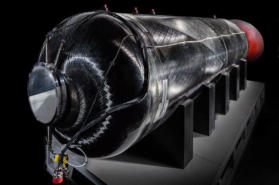 Virgin Galactic rocket motor! VSS Unity