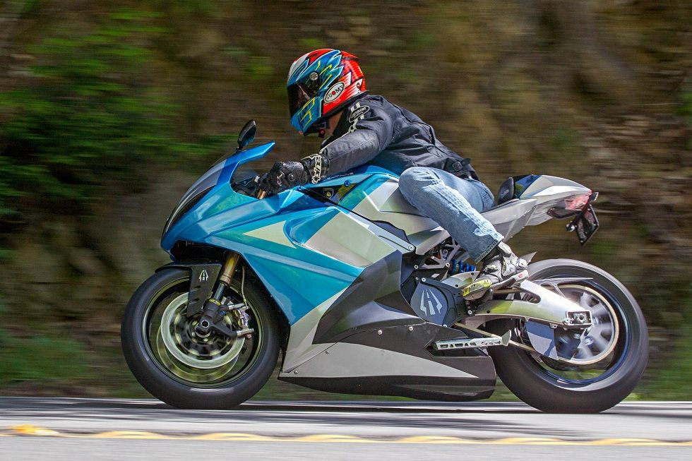 Lightning's Strike Electric Motorcycle! The Fastest