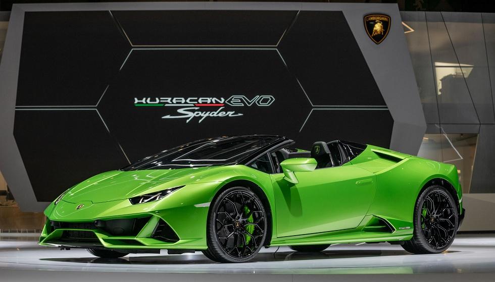 Lamborghini' Huracán with Supercomputer! Drive with Control