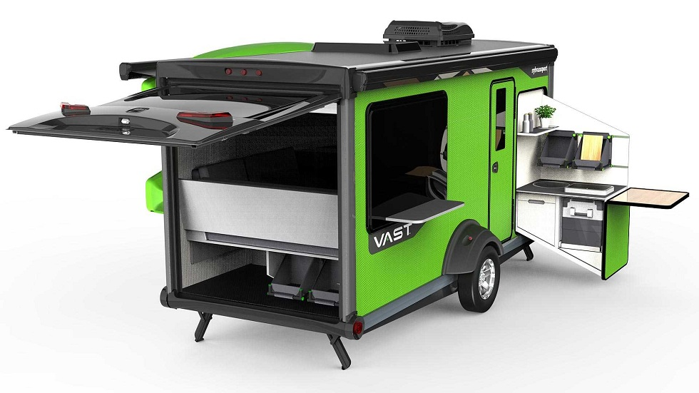 New SylvanSport Vast Camping Trailer! The Best