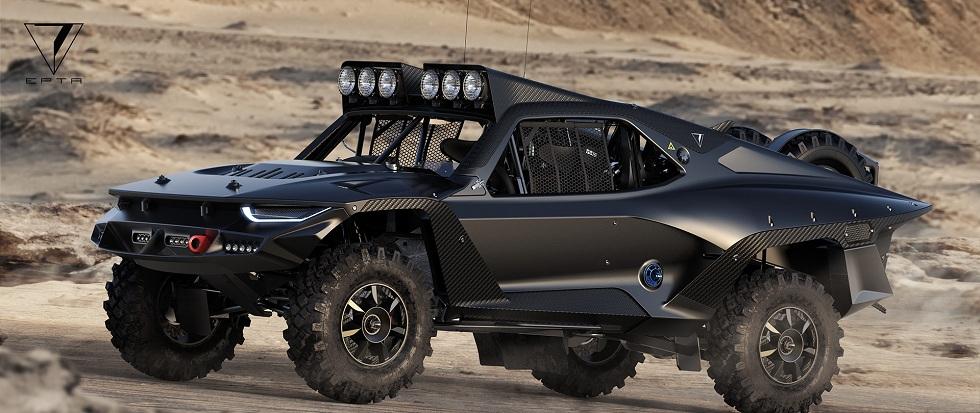 Desert Storm Trophy Truck! The Monster