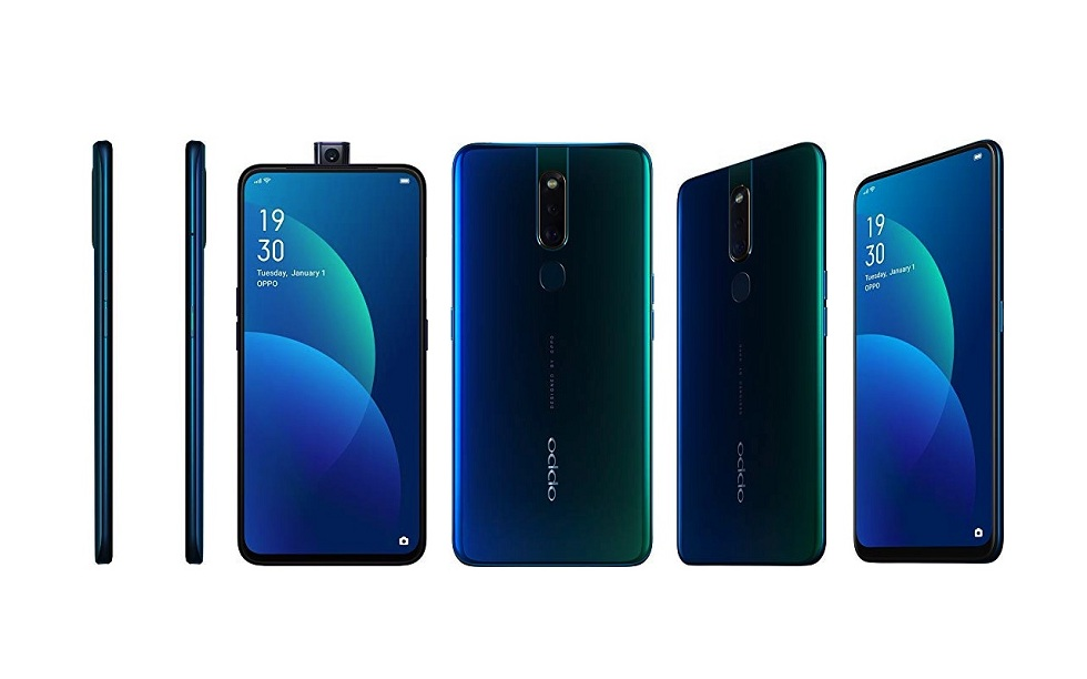 Oppo F11 Pro! The pop-up selfie camera