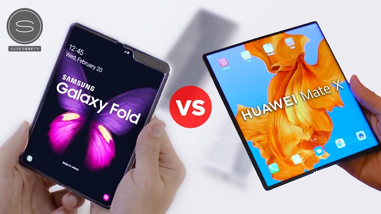 This is the Best! Samsung Galaxy Fold or Huawei Mate X?