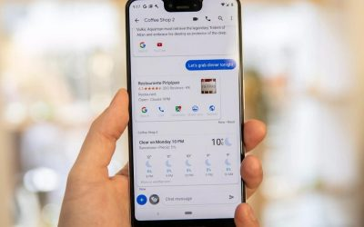 Google Assistant! Adding KiaOS and slide's in Android Messages app