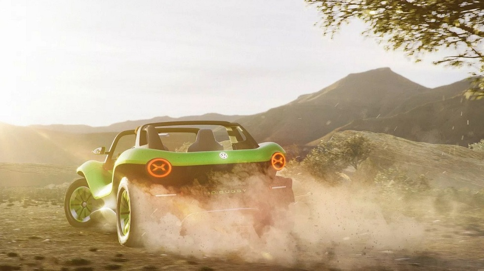 Volkswagen I.D. Buggy Concept! The Electric Fun Car