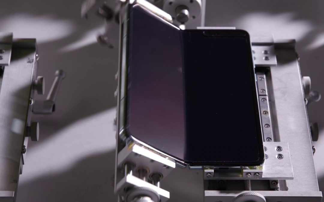 Samsung Galaxy Fold Bend Test